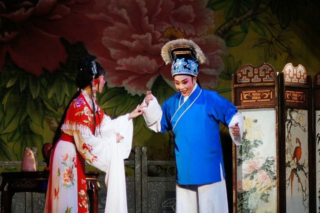 黄梅戏《卖油郎与花魁女》